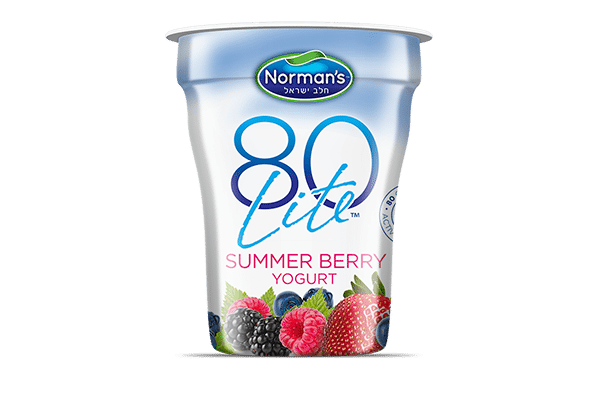 Norman's 80 Lite Summer Berry Yogurt