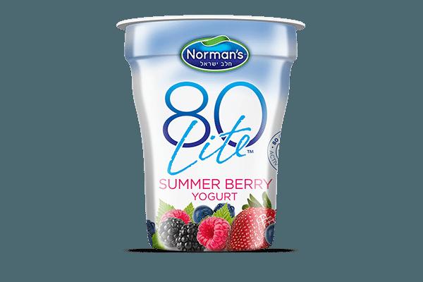 Norman's 80 Lite Summer Berry Yogurt