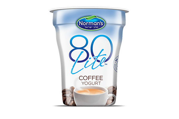 Norman's 80 Lite Coffee Yogurt