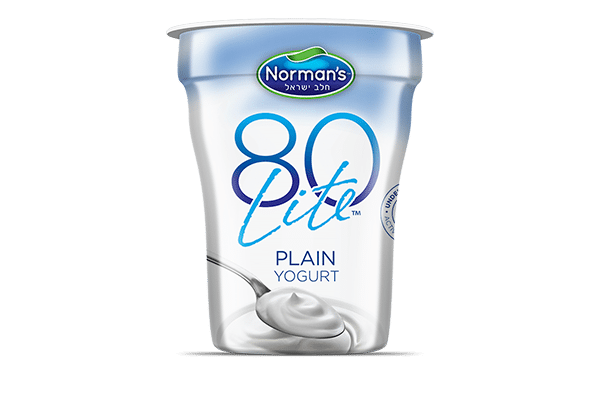 Norman's 80 Lite Plain Yogurt
