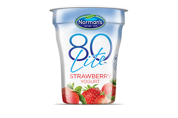 Norman's 80 Lite Strawberry Yogurt
