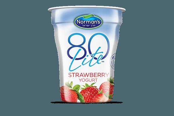 Norman's 80 Lite Strawberry Yogurt
