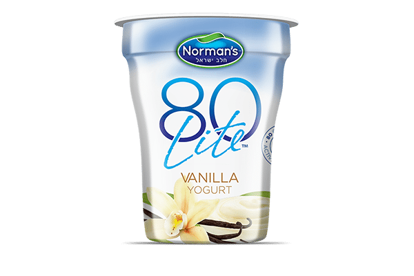 Norman's 80 Lite Vanilla Yogurt