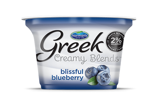 Norman's Greek Creamy Blends Blissful Blueberry