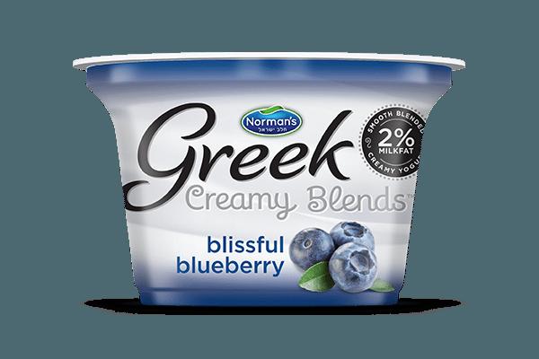 Norman's Greek Creamy Blends Blissful Blueberry