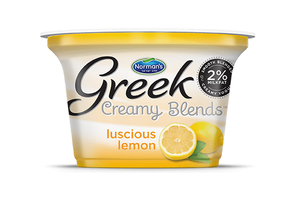 Norman's Greek Creamy Blends Luscious Lemon