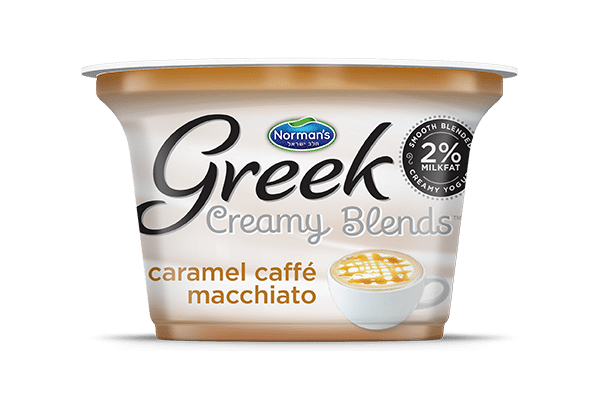 Norman's Greek Creamy Blends Caramel Caffe Macchiato