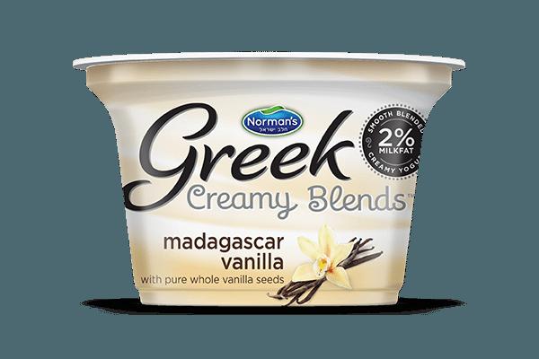 Norman's Greek Creamy Blends Madagascar Vanilla