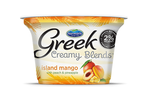 Norman's Greek Creamy Blends Island Mango