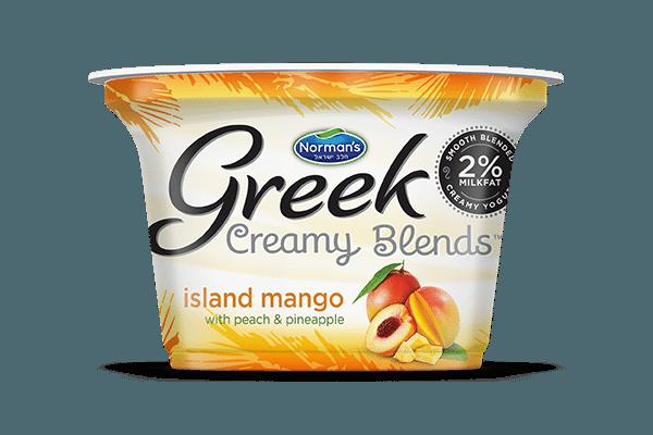 Norman's Greek Creamy Blends Island Mango