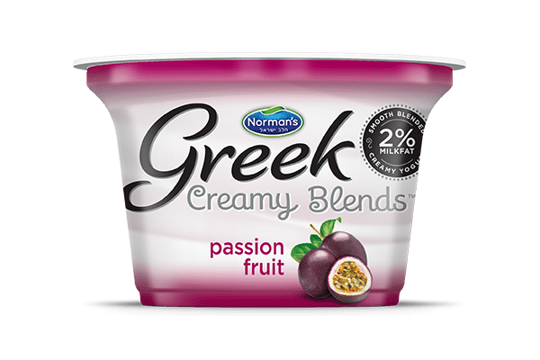 Norman's Greek Creamy Blends Passion Fruit
