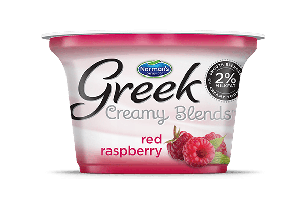 Norman's Greek Creamy Blends Red Raspberry