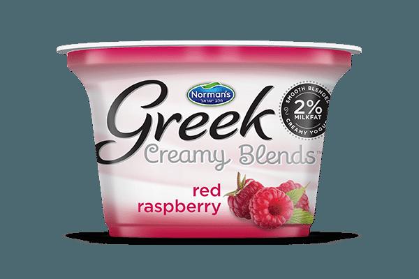 Norman's Greek Creamy Blends Red Raspberry