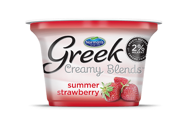 Norman's Greek Creamy Blends Summer Strawberry
