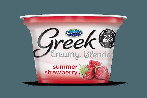 Norman's Greek Creamy Blends Summer Strawberry