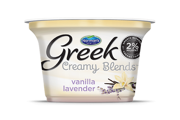 Norman's Greek Creamy Blends Vanilla Lavender