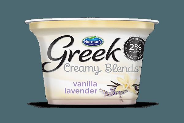 Norman's Greek Creamy Blends Vanilla Lavender