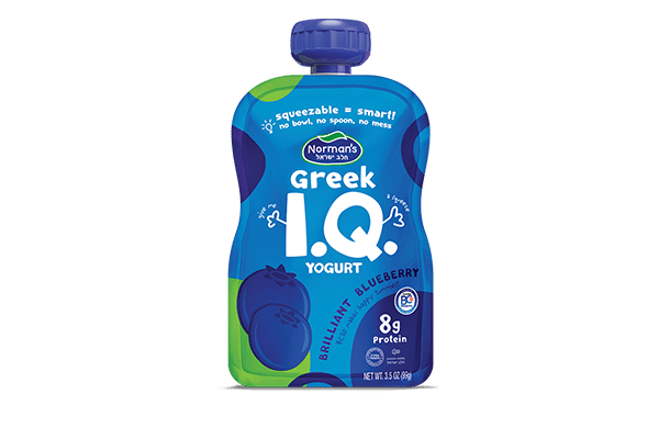 Norman's Greek IQ Blueberry Squeezer