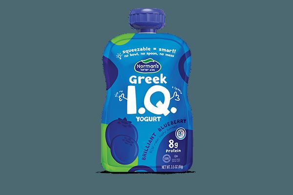 Norman's Greek IQ Blueberry Squeezer