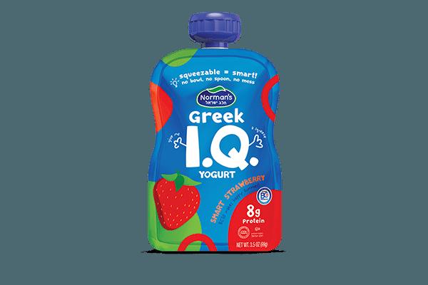 Norman's Greek IQ Strawberry Squeezer