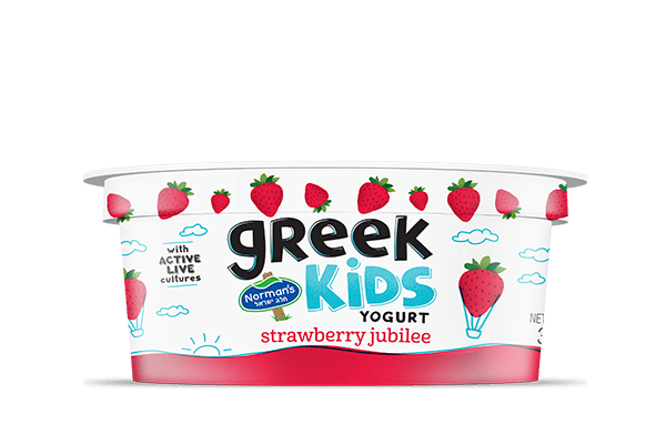 Norman's Greek Kids Stackers Strawberry