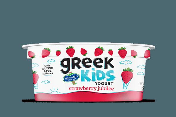 Norman's Greek Kids Stackers Strawberry