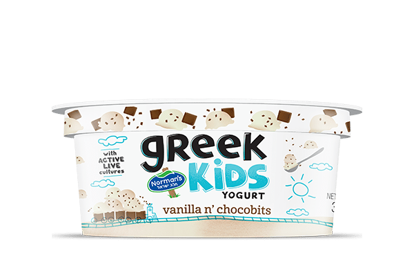 Norman's Greek Kids Stackers Vanilla n, Chocobits