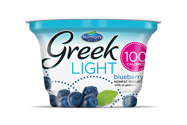 Norman's Greek Light Blueberry