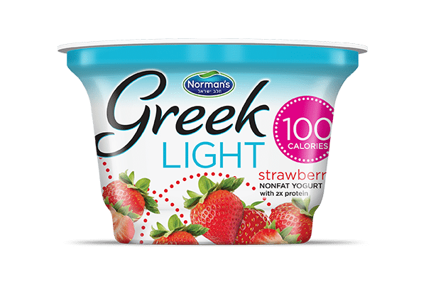 Norman's Greek Light Strawberry