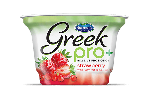 Norman's Greek Pro Strawberry