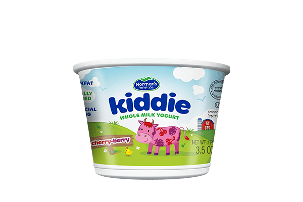 Norman's Kiddie Whole Milk Cherry Berry Yogurt
