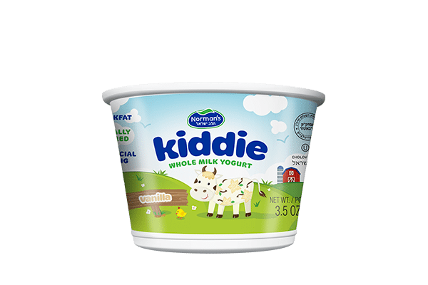 Norman's Kiddie Whole Milk Vanilla Yogurt