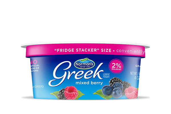 Norman's Greek Stackers Mixed Berry