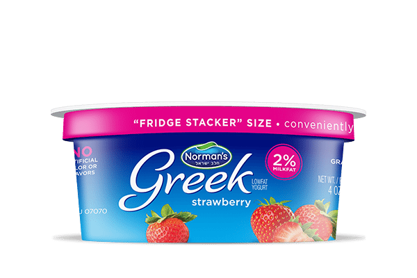 Norman's Greek Stackers Strawberry