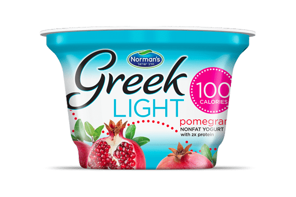 Norman's Greek Light Pomegranate